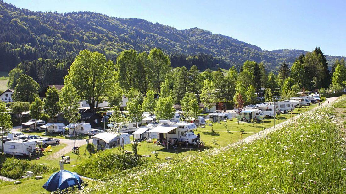 Top-15 Campingplätze, Österreich