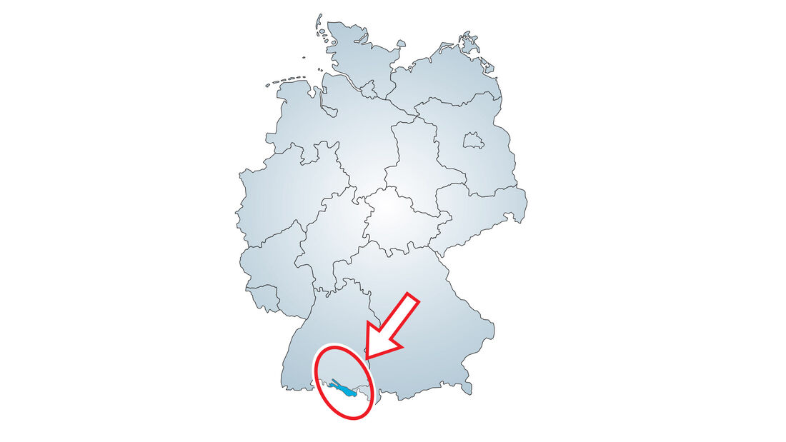 Top-Plätze am Bodensee