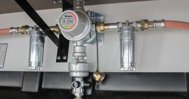 Truma Gasfilter eingebaut