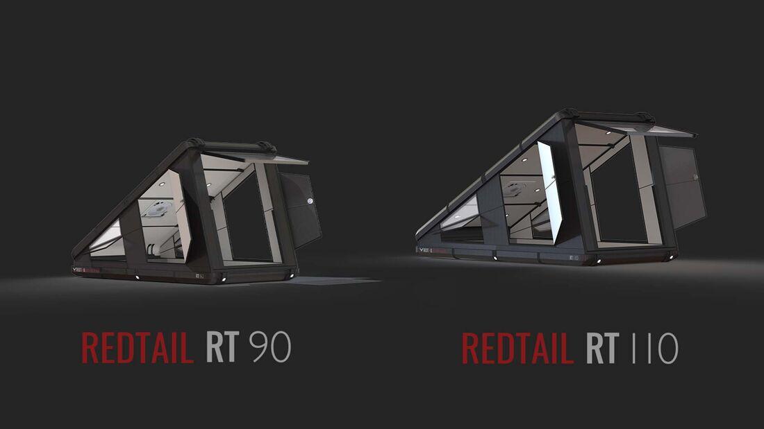 US-Dachzelt Redtail RTC