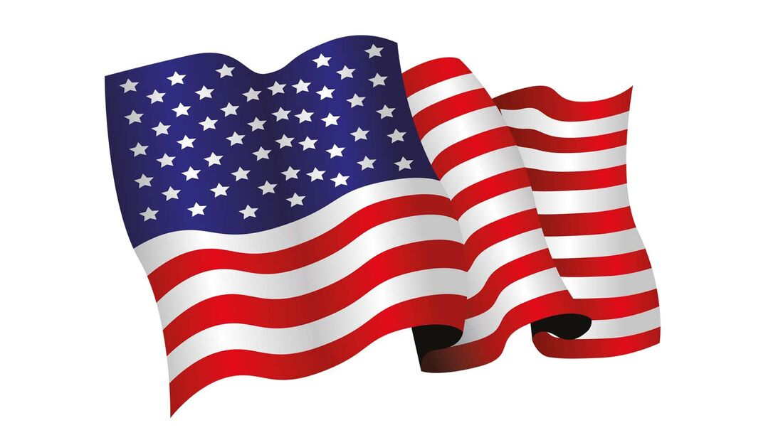 US-amerikanische Fahne