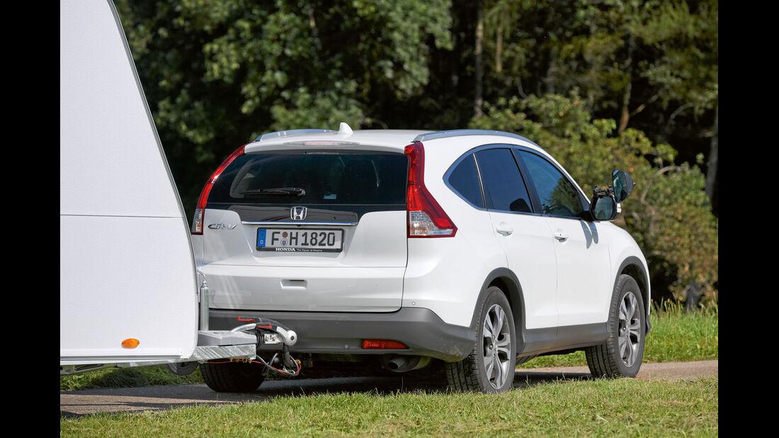 Überhang beim Honda CR-V