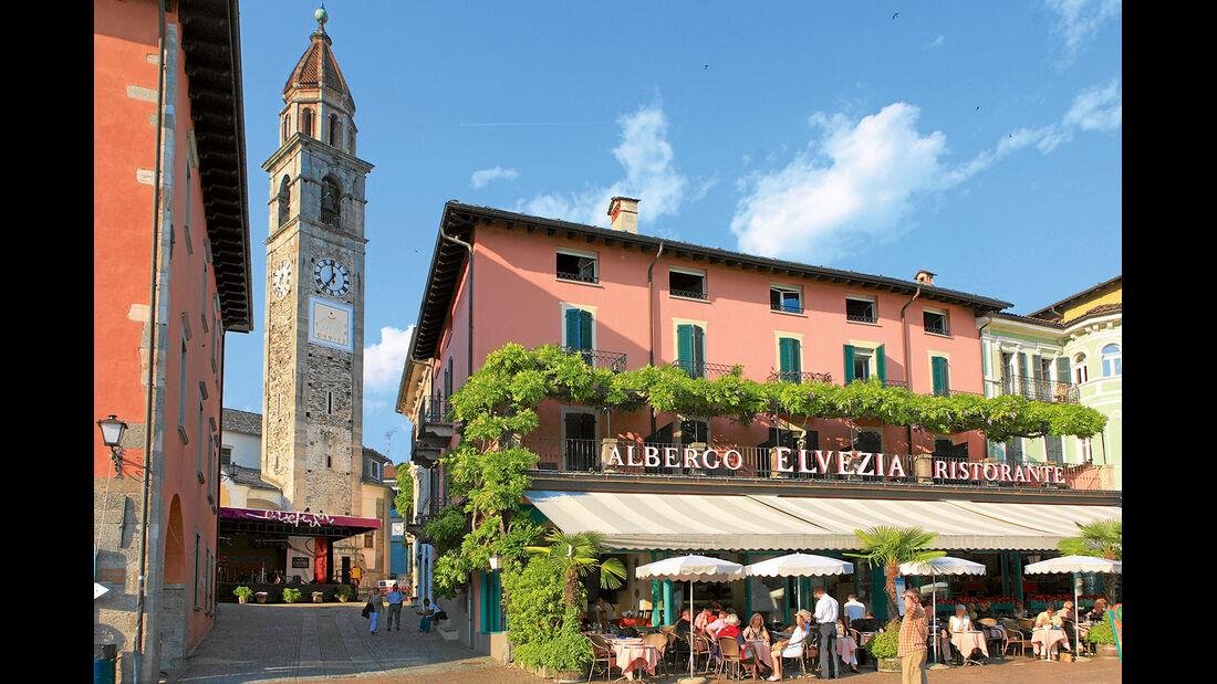 Uferpromenade in Ascona