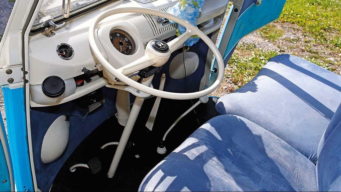 VW-Bus T1 Cockpit