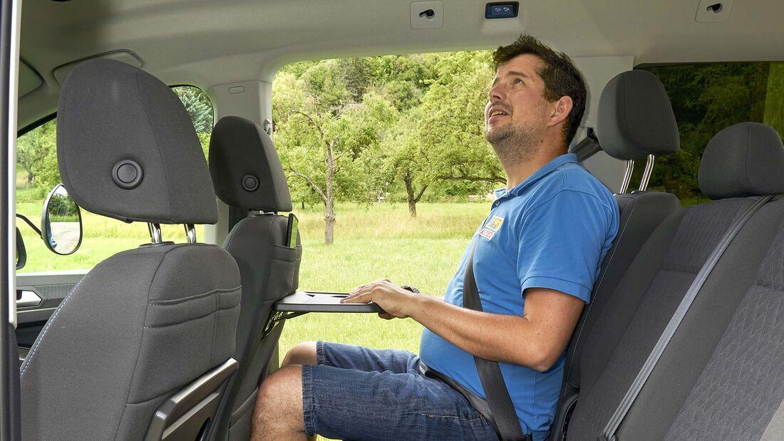 VW Caddy 2.0 TDI im Zugwagentest
