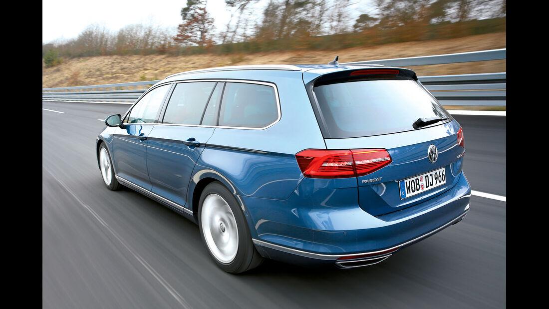 VW Passat Seitenansicht