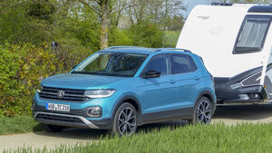 VW T-Cross 1.0 TSI im Zugwagen-Test