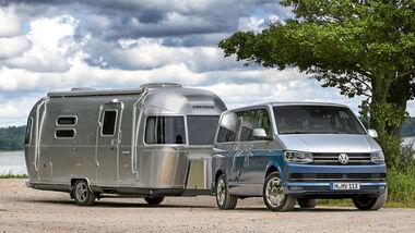 VW T6 mit Airstream Camper