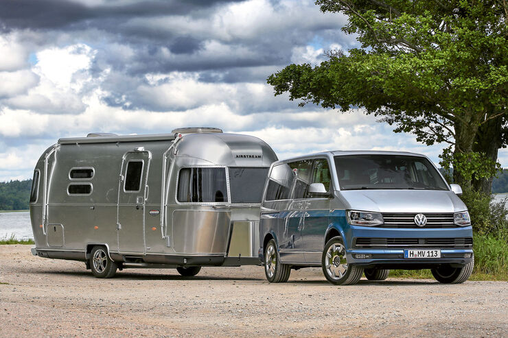 der fahrbereicht des vw t6 multivan caravaning. Black Bedroom Furniture Sets. Home Design Ideas