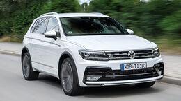 VW Tiguan 2.0 TDI SCR 4Motion, Frontansicht