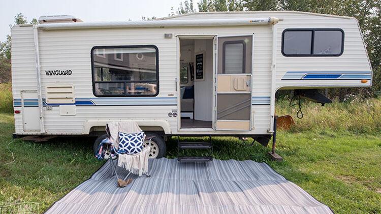 DIY-Mommy: Gebrauchtcaravan mit kleinem Budget renovieren ...