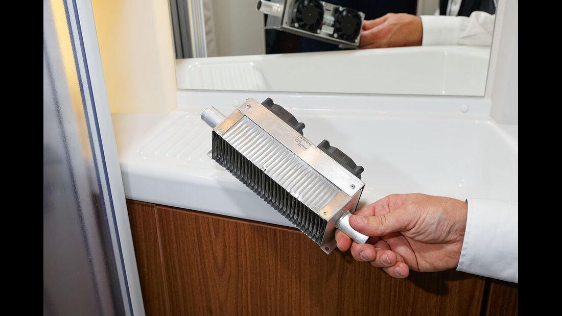 Ventilatorkonvektoren funktionieren aehnlich wie Booster.