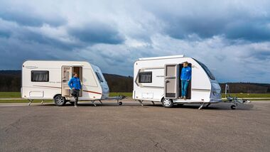 Vergleich Weinsberg CaraOne und LMC Style 400 F