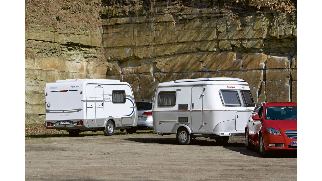 Vergleichstest: Eriba-Touring/Hymer Feeling, CAR 05/2012