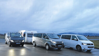 Vergleichstest: VW Multivan/Mercedes Viano/Ford Tourneo Custom