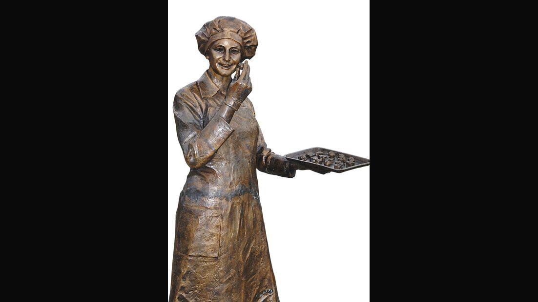Viba-Nougat-Welt Skulptur