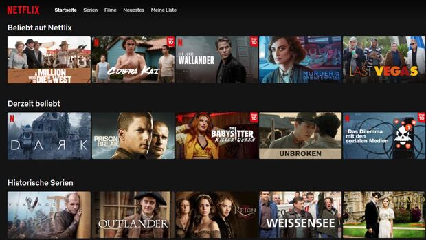 Video-Streaming Netflix