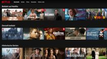Video-Streaming Netflix