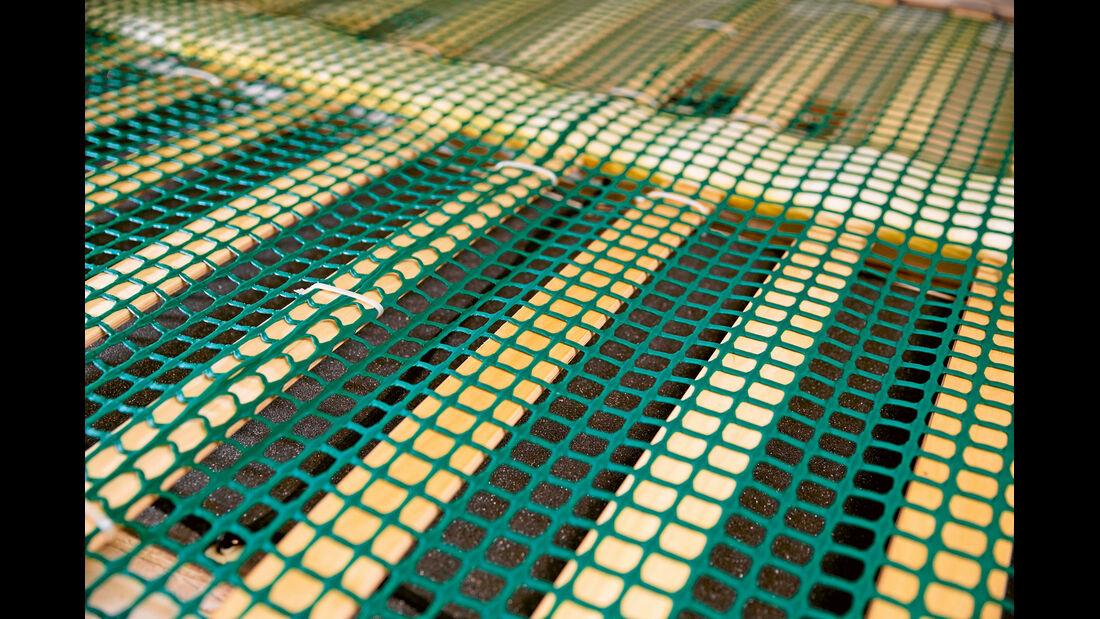 Viele Lattenroste haben zu große Abstaende zwischen den einzelnen Latten.