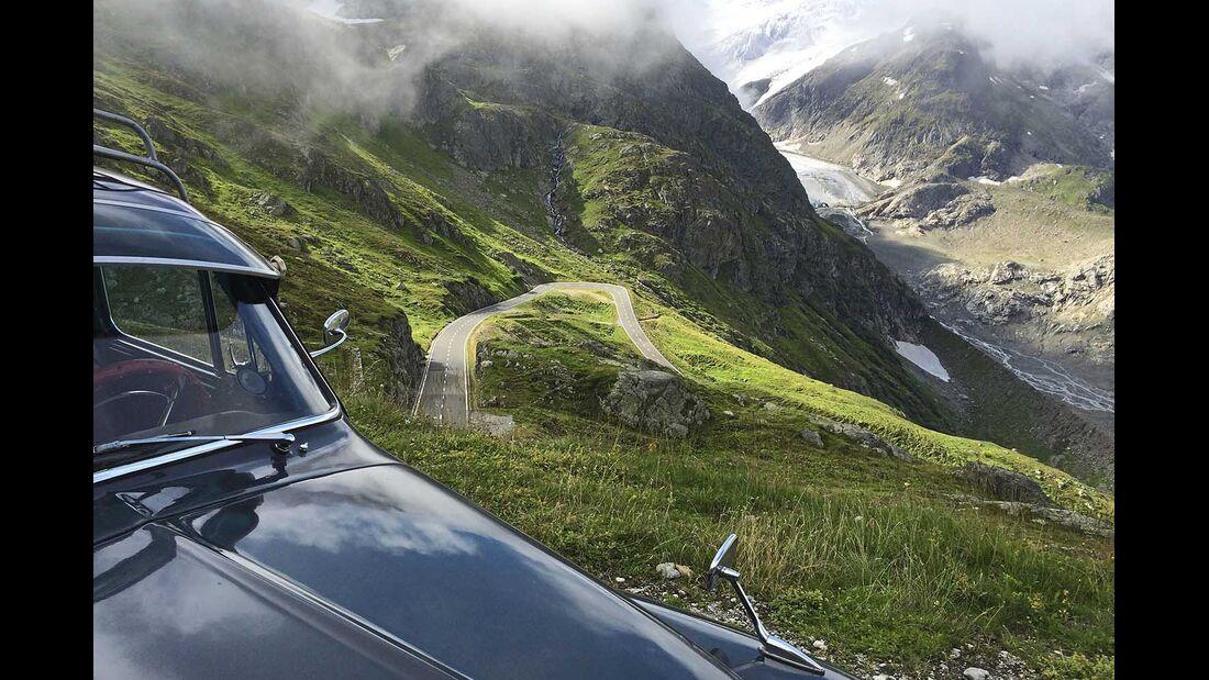 Volvo PV 544 Alpenpass