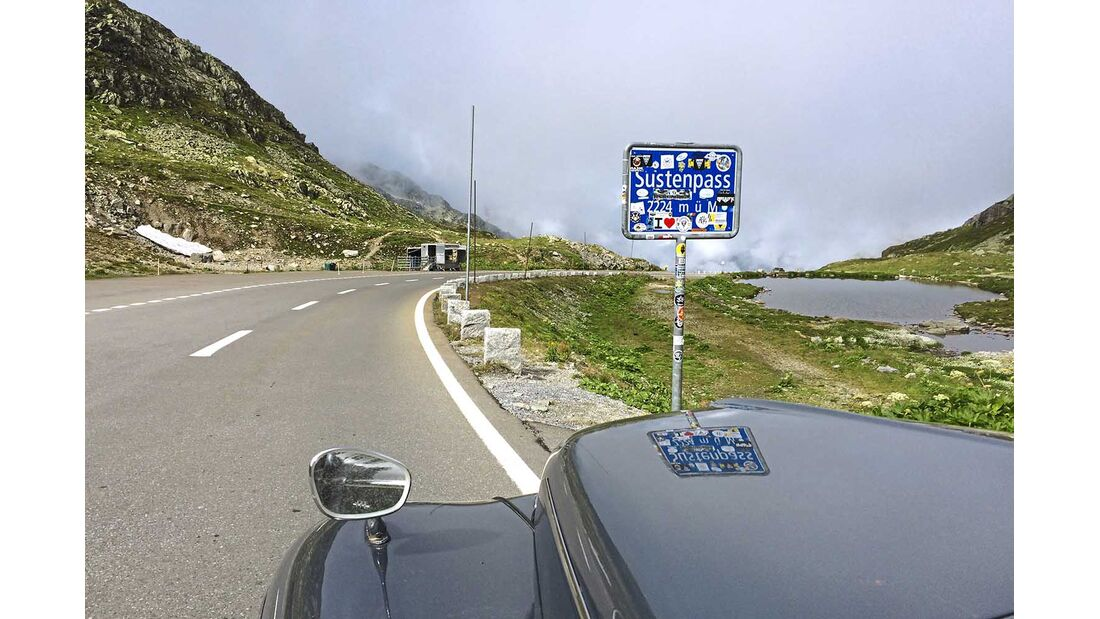 Volvo PV 544 Sustenpass