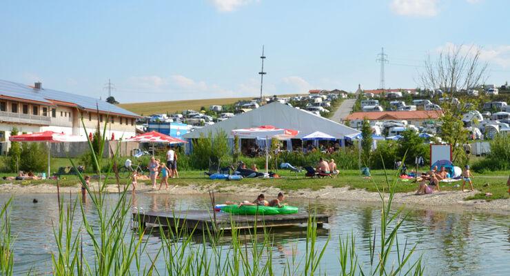 Vom 14. bis 16. August 2014 feiert das Fünf-Sterne-Wellness- und Ferienresort Vital Camping Bayerbach sein 4. Camperfestival. Die Deutschen Steinhebermeisterschaften sorgen für Stimmung.