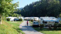 Von Campingplätzen wie dem Kleinenzhof aus lassen sich der Nordschwarzwald und die nahegelegenen Großstädte entdecken.