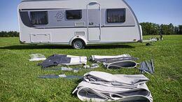 Vorzeltkunde, Camping