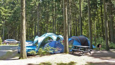 Waldcamping Erzgebirge