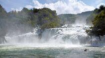 Wasserfälle Krka-Nationalpark Kroatien Dalmatien