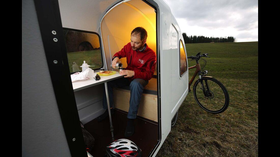 Wide Path Fahrrad Caravan