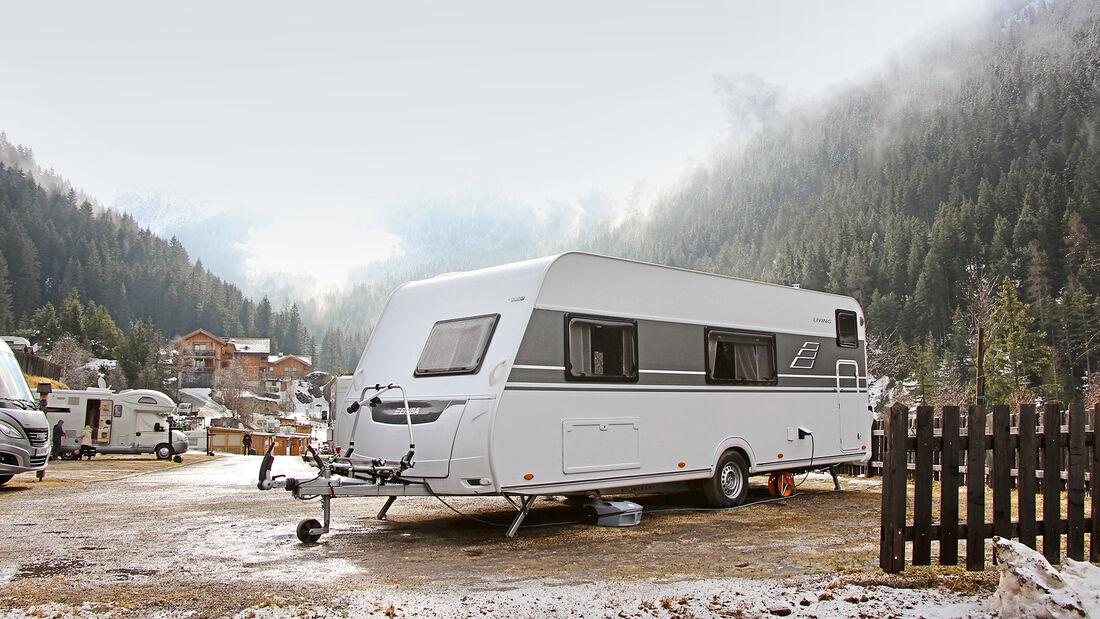 Wintercamping-Test Eriba Living 560