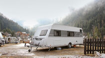 Wintercamping-Test Eriba Living 560