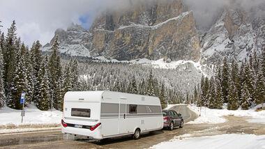 Wintercamping-Test Eriba Living 561