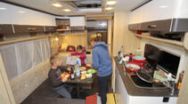 Wintercamping-Test Eriba Living 570