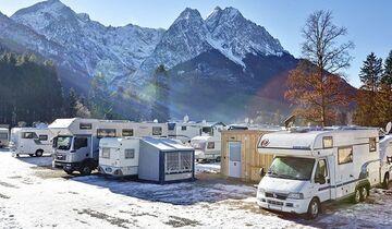 Wintercamping Zugspitze