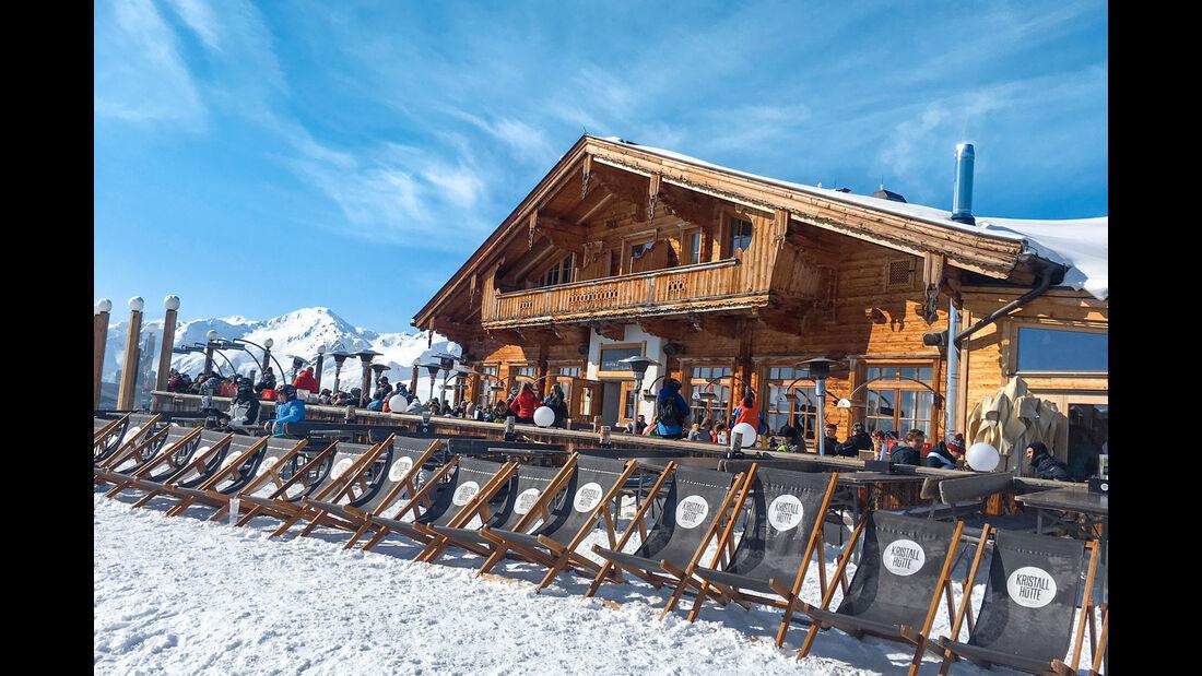 Wintercamping im Zillertal
