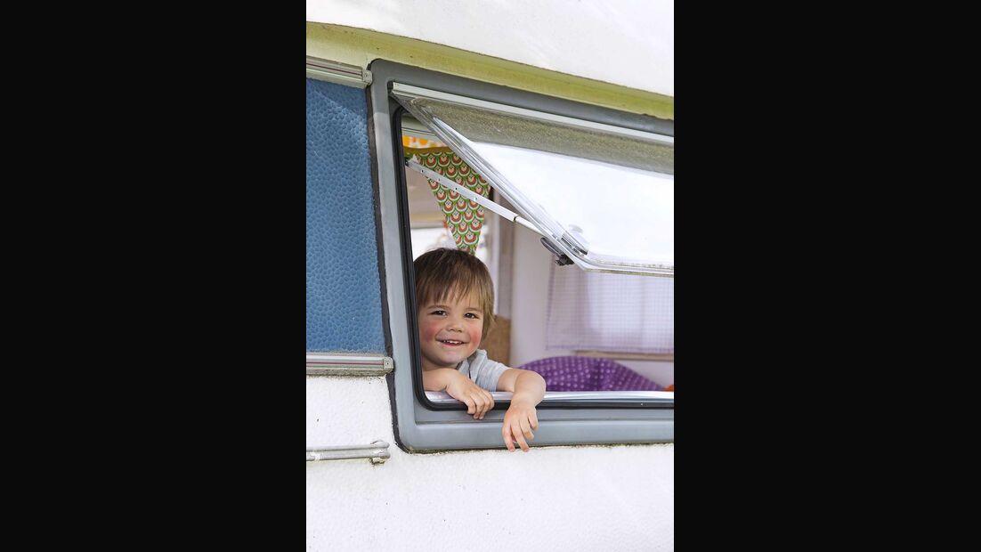 Wohnwagen Brummi Fenster