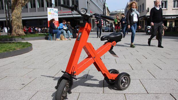 XCape X1 - Elektrodreirad