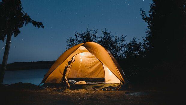 Zelten, Wildcampen