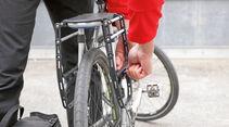 Zubehör: Fahrradgepäckträger, Seitenrahmen