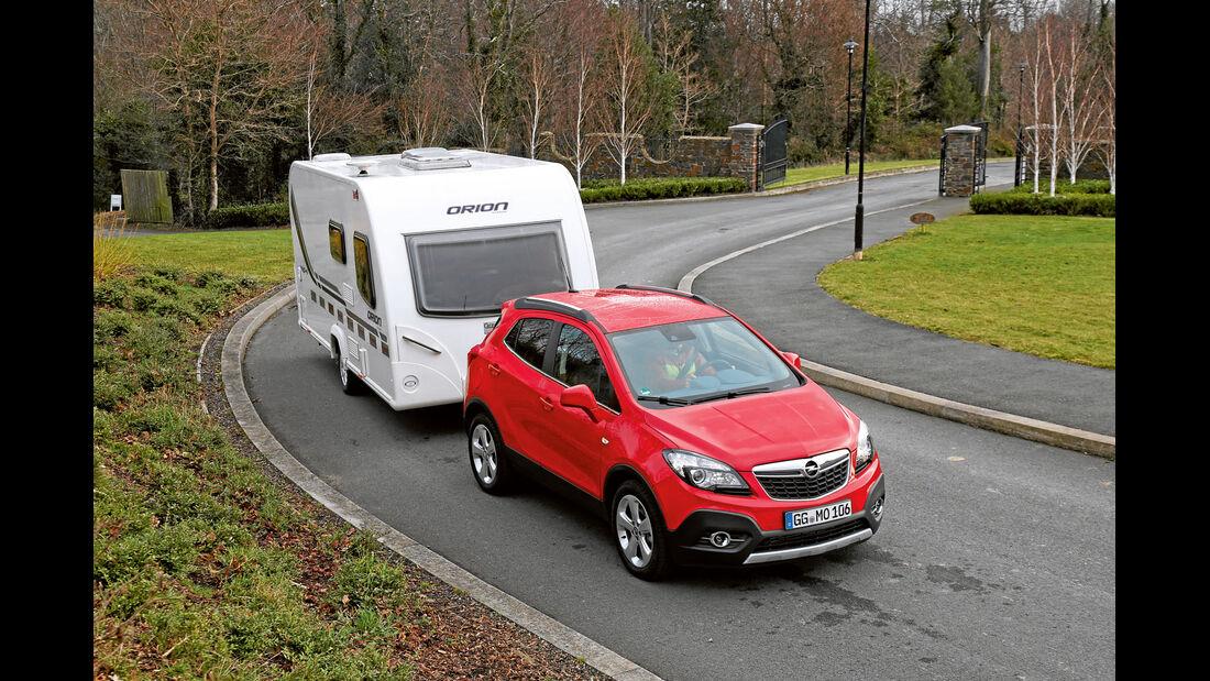 Zugwagen Opel Mokka