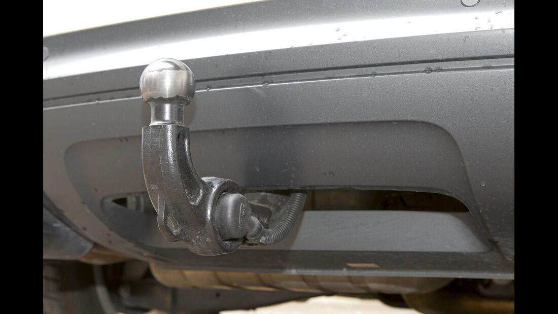 Zugwagen-Test: Audi Q3, Anhängerkupplung