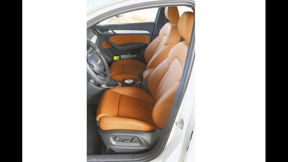 Zugwagen-Test: Audi Q3, Fahrersitz