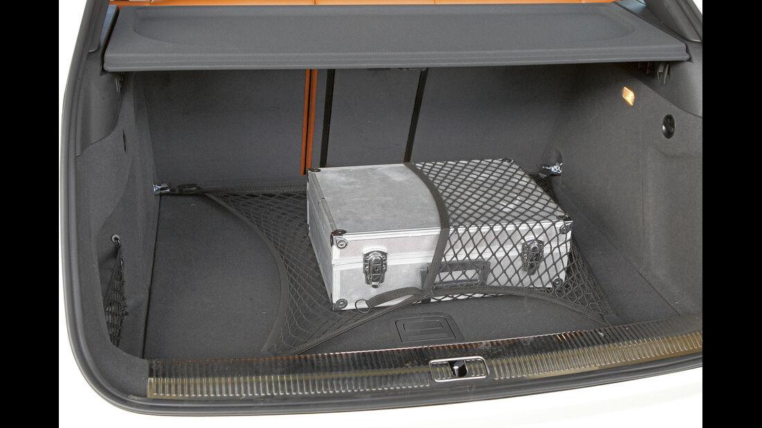 Zugwagen-Test: Audi Q3, Kofferraum