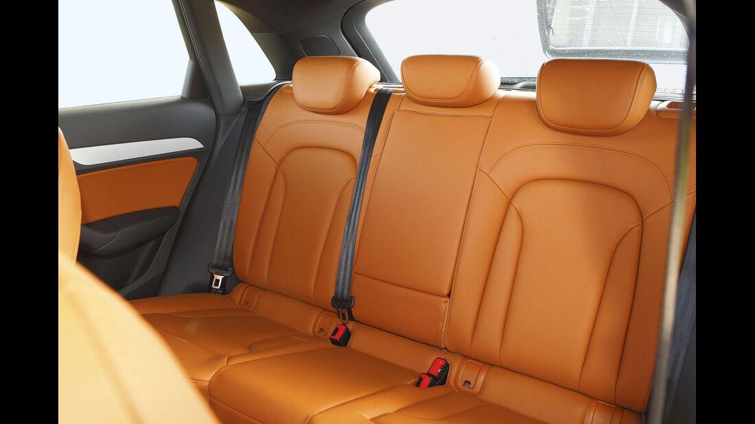 Zugwagen-Test: Audi Q3, Rückbank