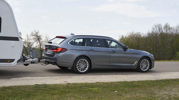Zugwagen-Test, BMW 540 d, Touring xDrive
