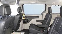 Zugwagen-Test: Lancia Voyager - Fond