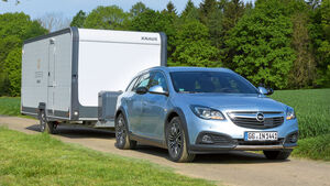 Zugwagen: Test, Opel Insignia