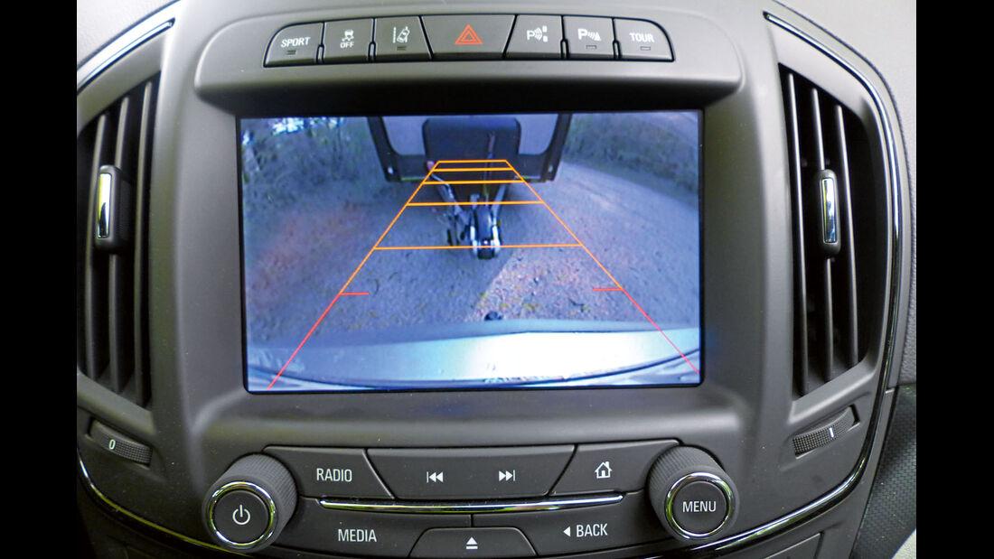 Zugwagen: Test, Opel Insignia, Rückfahrkamera